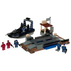 MEGA BLOKS 5512 Xếp hình kiểu Lego Laser Recon Laser Investigation Phát Hiện Tia Laze 125 khối