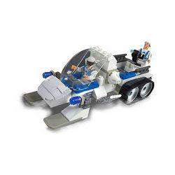 MEGA BLOKS 5504 Xếp hình kiểu Lego White Ops Whitewash White Ops Whitewash. 120 khối