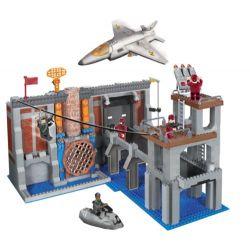 MEGA BLOKS 5530 Xếp hình kiểu Lego Secure The Dam Defend Dam Bảo Vệ đập 645 khối