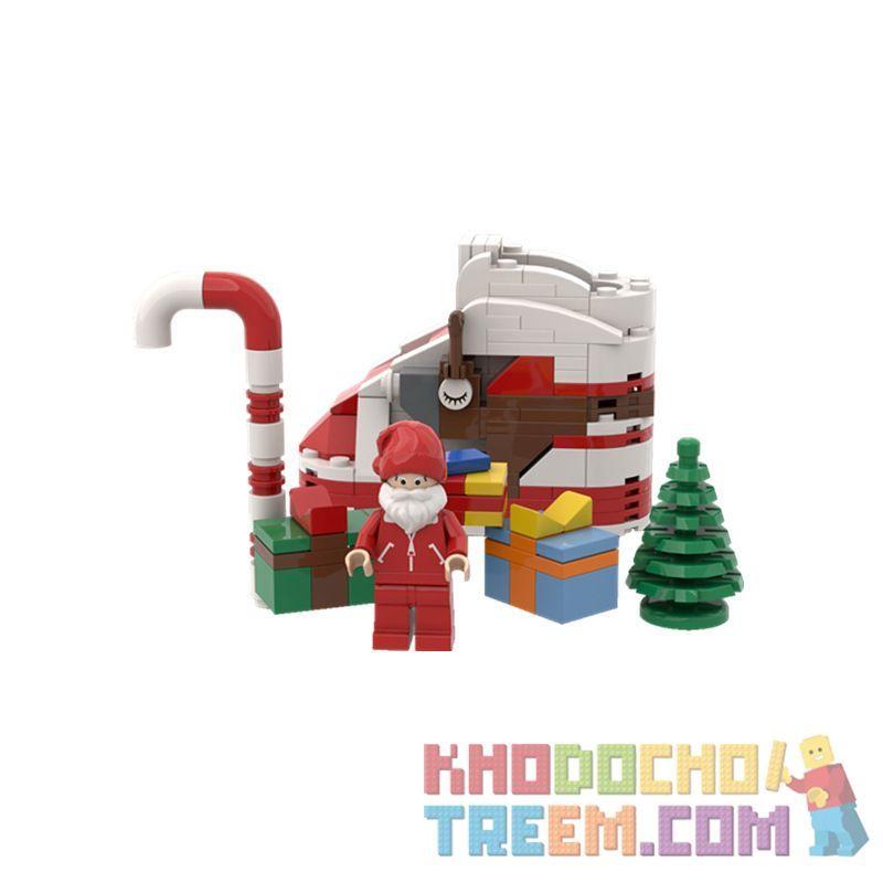CHENJIALE 1225 Xếp hình kiểu Lego Christmas Shoes Giày Giáng Sinh 181 khối