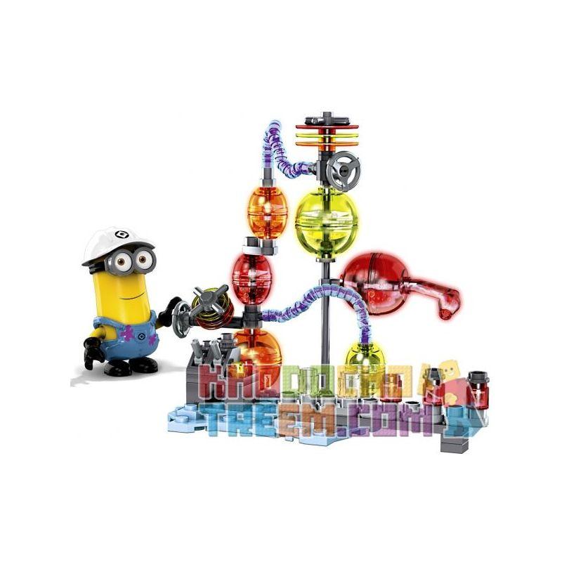 MEGA BLOKS 94811 Xếp hình kiểu Lego Jelly Laboratory Phòng Thí Nghiệm Thạch