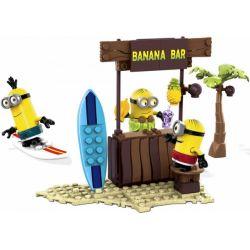 MEGA BLOKS 94815 Xếp hình kiểu Lego Beach Day Beach Time đã đến Lúc Tắm Biển