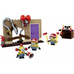 MEGA BLOKS 94816 Xếp hình kiểu Lego FIRE RESCURE Fire Rescue Cứu Hỏa