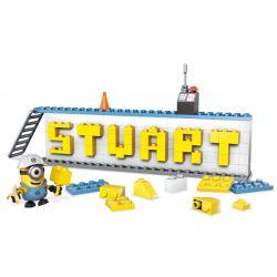 MEGA BLOKS DRV32 Xếp hình kiểu Lego Name Builder Set Bộ Tạo Tên