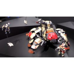MEGA BLOKS DPJ13 Xếp hình kiểu THE LEGO NINJAGO MOVIE Fate Fallen Walker Fallen Walker. 689 khối