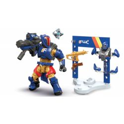MEGA BLOKS FFB52 Xếp hình kiểu THE LEGO NINJAGO MOVIE Future War Cult Titan Armory Fate Future War Mad Titan Armor Chiến Tranh Tương Lai Bộ Giáp Titan điên 40 khối
