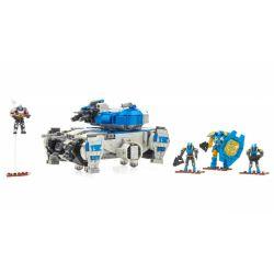 MEGA BLOKS FFB56 Xếp hình kiểu THE LEGO NINJAGO MOVIE Goliath Tank Strike Fate Giant Tank Attack Cuộc Tấn Công Xe Tăng Khổng Lồ 902 khối