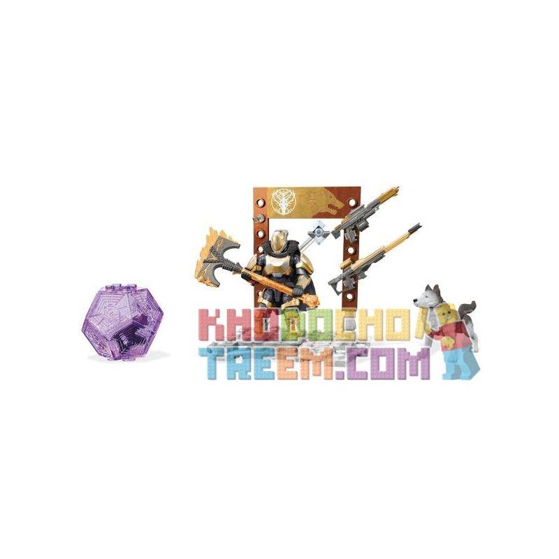 MEGA BLOKS FMK06 Xếp hình kiểu THE LEGO NINJAGO MOVIE Lord Saladin Arsenal Fate Lord Saladin's Armory Xưởng Vũ Trang Của Chúa Saladin 44 khối