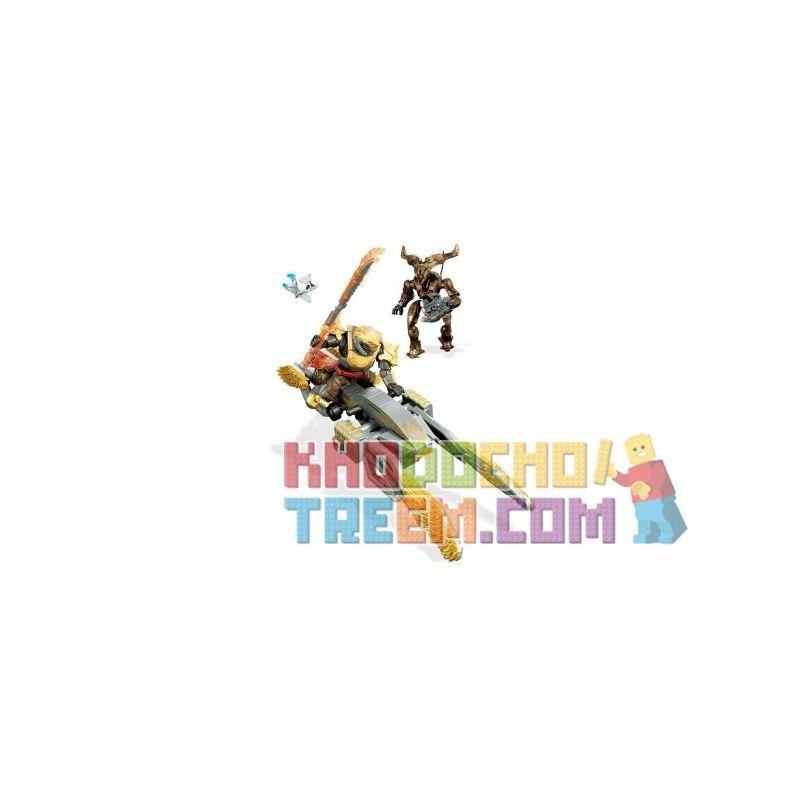 MEGA BLOKS FMK09 Xếp hình kiểu THE LEGO NINJAGO MOVIE Fate Gjallarwing Sparrow Speed Tốc độ Sparrow Gjallarwing 84 khối