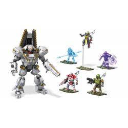 MEGA BLOKS FVG41 Xếp hình kiểu THE LEGO NINJAGO MOVIE Dominus Ghaul Assault Fate The Ghaul Assault Cuộc Tấn Công Ghaul 394 khối
