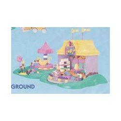 MEGA BLOKS 9412 Xếp hình kiểu Lego FRIENDS Party Playground Gathering Venue Địa điểm Tổ Chức Tiệc 190 khối