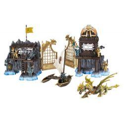 MEGA BLOKS 9885 Xếp hình kiểu Lego Marauder's Cliff Paleo Cliff Vách đá Của Predator 114 khối