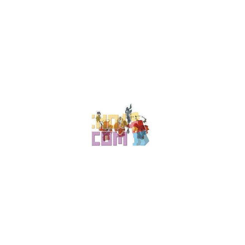 MEGA BLOKS 9541 Xếp hình kiểu Lego Dragon Sages Rồng. 6 khối