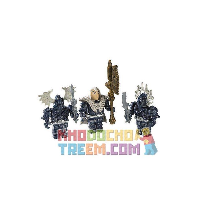 MEGA BLOKS 9543 Xếp hình kiểu Lego Xenoz Clerics Giáo Sĩ Xenoz 6 khối
