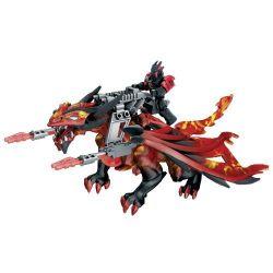 MEGA BLOKS 95236 Xếp hình kiểu Lego Blaze Jinryu B Azin B Azinju. 27 khối