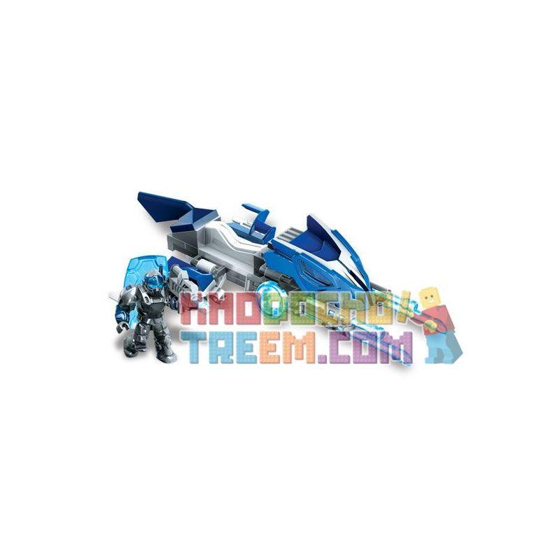 MEGA BLOKS 95257 Xếp hình kiểu Lego Azure Striker Tiền đạo Azure 42 khối