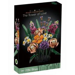 BLANK 10286 11281 X19005 19005 LARI 11650 Xếp hình kiểu Lego CREATOR EXPERT Flower Bouquet Bó Hoa 756 khối
