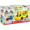 Hystoys Hongyuansheng Aoleduotoys HG-1271 (NOT Lego Duplo 5636 Bus ) Xếp hình Bến Xe Buýt 16 khối