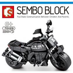 SEMBO 701129 Xếp hình kiểu Lego MOTO Benelli 502C Enjoy The Ride Benoli 502C Benoli 502C. 236 khối