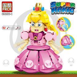 PRCK 69856-1 Xếp hình kiểu Lego Super Mario Bi Qi Princess Công Chúa đào 265 khối