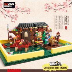 Decool 20501 Jisi 20501 Xếp hình kiểu Lego Courage Of The Three Kingdoms Three Kingdoms Three Countries Ba Vương Quốc 925 khối
