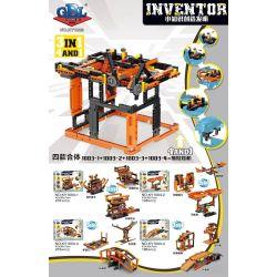 GBL KY1003-1 1003-1 KY1003-2 1003-2 KY1003-3 1003-3 KY1003-4 1003-4 Xếp hình kiểu Lego MINDSTORMS Inventor Small Knowledge Creation Grasping The Doll Machine Lifting Platform, Balance, Lifting Bridge,
