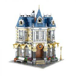 MOULDKING MOULD KING 11005 Xếp hình kiểu Lego DISNEY PRINCESS MKingLand Costume Shop Yushang Dream Park Park Clothing Store Cửa Hàng Quần áo Công Viên 2805 khối