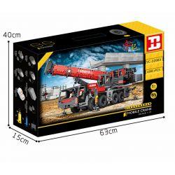 HAPPY BUILD SHINEYU XINYU YC-22003 22003 YC22003 Xếp hình kiểu Lego BUILD TEAM Shine YU Mobile Crane Yudu House Remote Control Big Hanging Arm (heavy Crane) 1 17 Điều Khiển Từ Xa Cánh Tay Treo Lớn (cầ