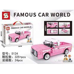 SHENG YUAN SY 5124 Xếp hình kiểu Lego RACERS Dodge Famous Car Dodika Dodika. 325 khối