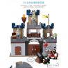 Hystoys Hongyuansheng Aoleduotoys HG-1312 (NOT Lego Duplo Castle ) Xếp hình Đánh Chiếm Lâu Đài Trung Cổ 2 Tầng 82 khối