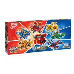 Enlighten 41213 41214 41215 41216 41217 41218 Qman 41213 41214 41215 41216 41217 41218 Xếp hình kiểu Lego TRANSFORMERS Supercoming Mechanic Cube Rubik's Cube Is Straight To 6 Laser Cheetah, Shenjun Sp