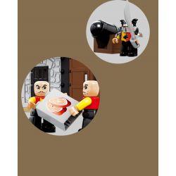 HYSTOYS HONGYUANSHENG AOLEDUOTOYS  HG-1313 1313 HG1313 Xếp hình kiểu Lego Duplo DUPLO Lego Duplo Castle 76 Nhà kho của nhà vua 76 khối