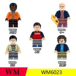 WM 6023 805 806 807 808 809 Xếp hình kiểu Lego COLLECTABLE MINIFIGURES 5 Models Monster Quái Vật gồm 6 hộp nhỏ