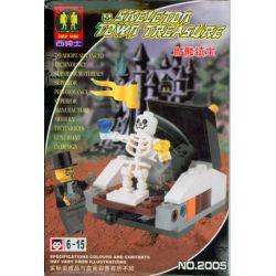 ZEPHYR KNIGHT 2005 Xếp hình kiểu Lego ADVENTURERS Adventure The Secret Of The Tomb Bí Mật Của Lăng Mộ 42 khối