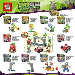 SHENG YUAN SY 1086 1086-1 1086-10 1086-2 1086-3 1086-4 1086-5 1086-6 1086-7 1086-8 1086-9 Xếp hình kiểu Lego PLANTS VS ZOMBIES Plants Vs. Zombies Plant Vs. Zombies 10 Cây So Với Zombie 10 gồm 10 hộp n
