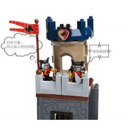 NOT Lego Duplo DUPLO 4779 Defence Tower, HYSTOYS HONGYUANSHENG AOLEDUOTOYS  HG-1316 1316 HG1316 Xếp hình tháp canh phòng thủ 64 khối