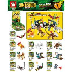 SHENG YUAN SY 1598 Xếp hình kiểu Lego JURASSIC WORLD Dinosaur World 19 260 khối