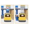 Hystoys Hongyuansheng Aoleduotoys HG-1334 GM-5002 (NOT Lego Duplo 10518 My First Construction Site ) Xếp hình Công Trường Xây Dựng Lớn gồm 2 hộp nhỏ 59 khối