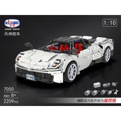 Winner 7050 Xếp hình kiểu Lego TECHNIC Super Ferraried Racing...