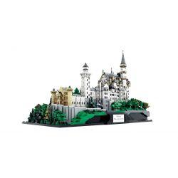 XINGBAO XB-05002 05002 XB05002 Xếp hình kiểu Lego ARCHITECTURE New Swan Stone Castle New Swan Fort Germany Lâu đài Thiên Nga Trắng 7437 khối