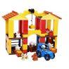 Hystoys Hongyuansheng Aoleduotoys HG-1365 (NOT Lego Duplo 10525 Big Farm ) Xếp hình Nông Trại Vừa 121 khối