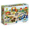 Hystoys Hongyuansheng Aoleduotoys HG-1396 GM-5026 (NOT Lego Duplo 6157 The Big Zoo ) Xếp hình Vườn Bách Thú Lớn gồm 2 hộp nhỏ 147 khối