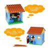 Hystoys Hongyuansheng Aoleduotoys HG-1414 (NOT Lego Duplo Family House ) Xếp hình Căn Nhà Nhỏ 17 khối