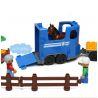Hystoys Hongyuansheng Aoleduotoys HG-1430 (NOT Lego Duplo 5648 Horses Stables ) Xếp hình Trang Trại Ngựa Lớn 58 khối