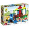 Hystoys Hongyuansheng Aoleduotoys HG-1430 (NOT Lego Duplo 5648 Horse Stables ) Xếp hình Trang Trại Ngựa Lớn 58 khối