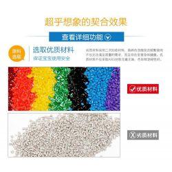 NOT LEGO Duplo 5593 Circus, Hystoys HongYuanSheng Aoleduotoys HG-1435 Xếp hình rạp xiếc mộng mơ 61 khối
