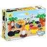 Hystoys Hongyuansheng Aoleduotoys HG-1440 (NOT Lego Duplo 5655 Caravan ) Xếp hình Buổi Dã Ngoại Vui Vẻ 27 khối