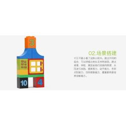 NOT LEGO Duplo 10572 All-in-One-Box-of-Fun, Hystoys HongYuanSheng Aoleduotoys HG-1459 Xếp hình Hộp vui nhộn 65 khối