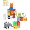 Hystoys Hongyuansheng Aoleduotoys HG-1459 (NOT Lego Duplo 10572 All-In-One-Box-Of-Fun ) Xếp hình Hộp Vui Nhộn 65 khối