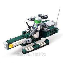 GUDI 8206 Xếp hình kiểu Lego EARTH BORDER Earth Border Moto Bay 88 khối